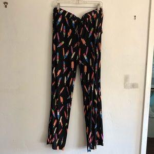 Popsicle-Patterned Pants